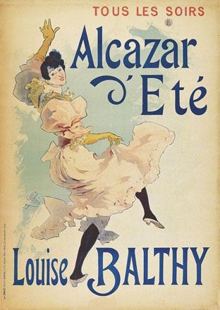 Chéret Jules - Alcazar d'Eté