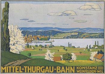 Schlatter Ernst Emil - Mittel-Thurgau-Bahn
