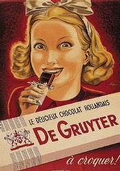 Spinner Walter - Chocolat de Gruyter