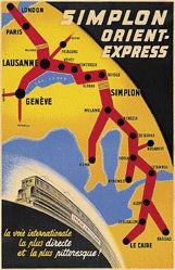 Spinner Walter - Simplon Orient-Express