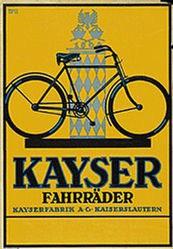 Monogramm BPG - Kayser Fahrräder