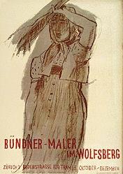 Carigiet Alois - Bündner-Maler im Wolfsberg
