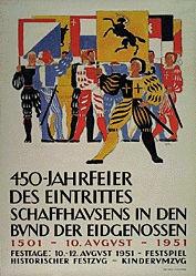 Leu Ernst - 450-Jahrfeier des Eintrittes