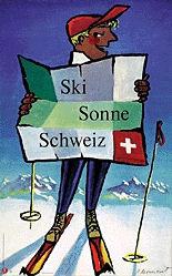 Monnerat Pierre - Ski - Sonne - Schweiz