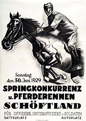 Anonym - Pferderennen