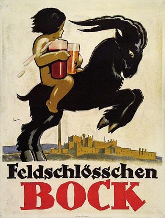Ernst Otto - Feldschlösschen Bock