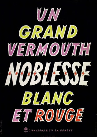 Poncy Eric - Vermouth Noblesse
