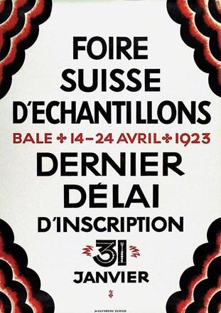 Anonym - Foire Suisse Bâle