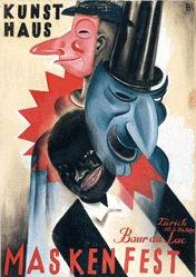 Baumberger Otto - Maskenfest