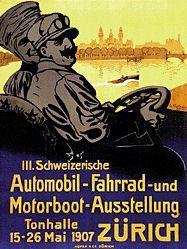 Hartmann Gerhard - 3. Automobil-Ausstellung Zürich