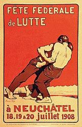 Jaques François - Fête fédéral de Lutte