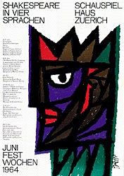 Piatti Celestino - Shakspeare in vier Sprachen