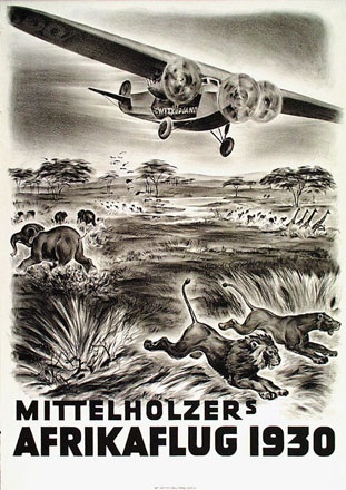 Anonym - Mittelholzer's Afrikaflug