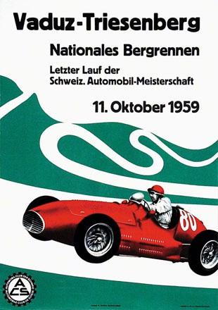 Witschi Hans W. - Nationales Bergrennen