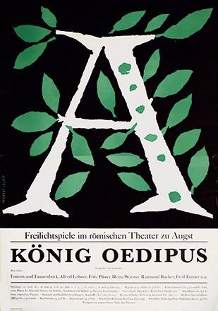 Leupin Herbert - König Oedipus