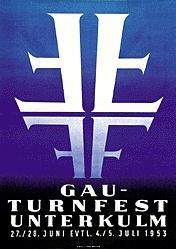 Anonym - Gau-Turnfest Unterkulm