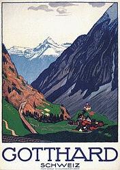 Cardinaux Emil - Gotthard