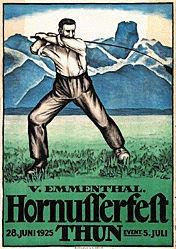 Heer E. - Hornusserfest Thun