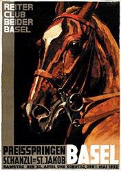 Hugentobler Iwan Edwin - Preisspringen Basel