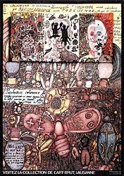 Jeker Werner - Collection de l'Art Brut