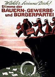 Laubi Hugo - Bauern-,Gewerbe- und Bürgerpartei (BGB)