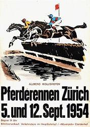 Laubi Hugo - Pferderennen Zürich