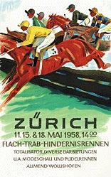 Laubi Hugo - Hindernisrennen Zürich