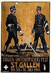 Liner Carl - Unteroffiziers-Fest St. Gallen