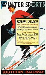Monogramm C. - Southern Railway