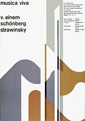 Müller-Brockmann Josef - Musica viva