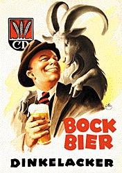 Ottler Otto - Dinkelacker Bock Bier