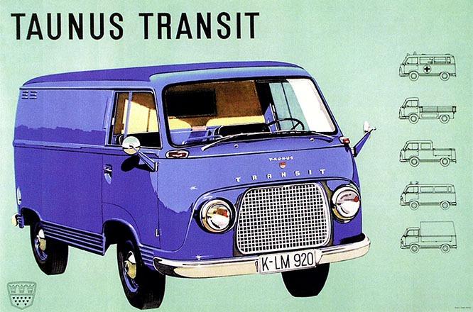 Anonym - Ford Taunus Transit