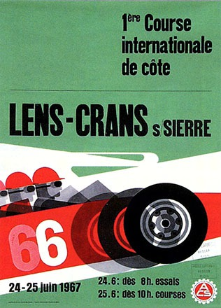 Hartmann Hans - 1ere Course internationale de Côte