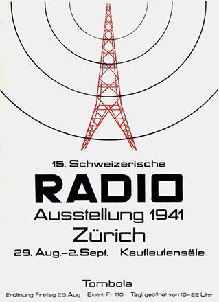 Anonym - Radio-Ausstellung