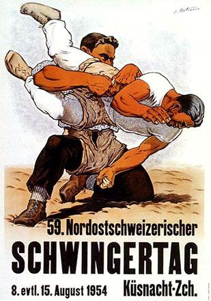 Rüttimann Carl - Nordostschweizer Schwingertag