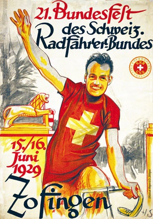 Monogramm H.S. - Bundesfest Radfahrer-Bund Zofingen