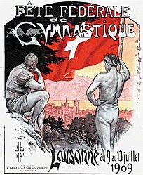 Rouge Frédéric - Fête fédérale de Gymnastique