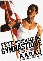 Stucki Egon - Fête fédérale de Gymnastique