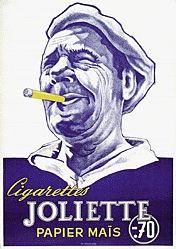 Anonym - Cigarettes Joliette - papier mais