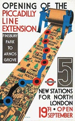 Bacon Cecil Walker - Piccadilly Line Extension