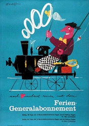 Brun Donald - Ferien-Generalabonnement