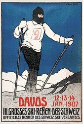 Koch Walther - III. Grosses Ski-Rennen der Schweiz