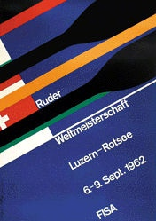 Küng Edgar - FISA - Ruder Weltmeisterschaft
