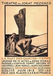 Morax Jean - La nuit des quatre-temps
