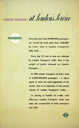 Monogramm A.G. - London Service