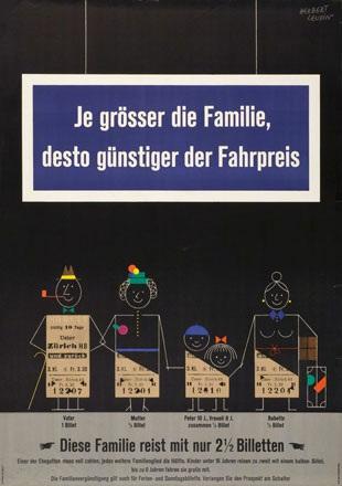 Leupin Herbert - SBB - Familienvergünstigung