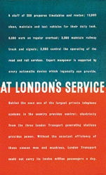 Anonym - At London's service