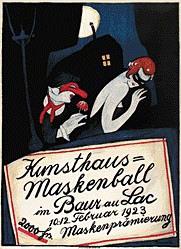Boscovits Fritz - Kunsthaus-Maskenball