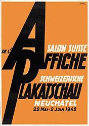 de Coulon Eric - Schweizerische Plakatschau Neuchâtel