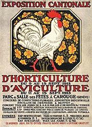Courvoisier Jules - Exposition d'Aviculture